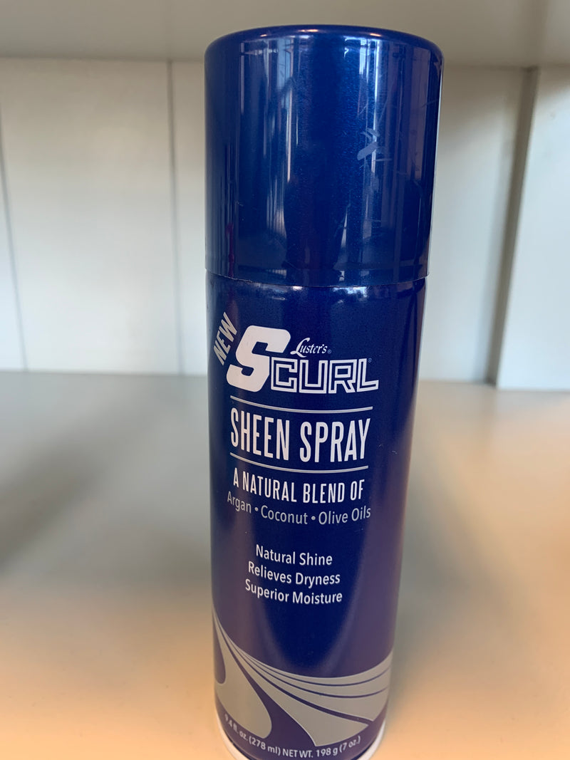 SCurl Sheen Spray