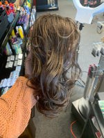 Wavy Locks Interlocking Comb Ponytail