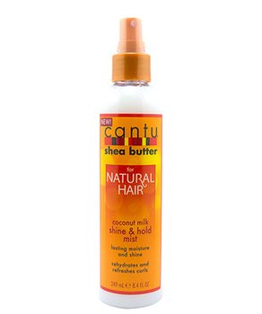 Cantu Shea Butter for Natural Hair Coconut Milk Shine & Hold Mist