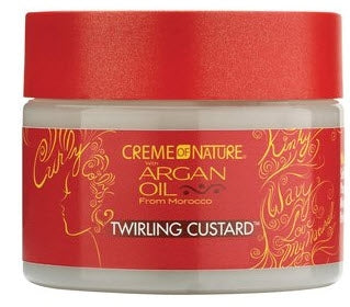 Crème of Nature with Argan Oil Twirling Custard