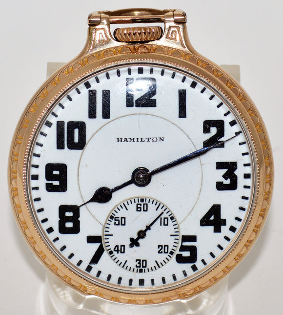 SOLD Hamilton Lever-set Pocket Watch