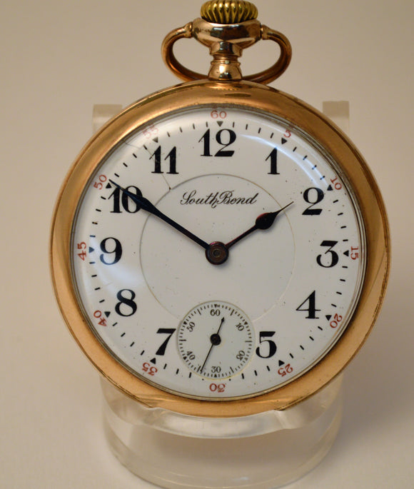 Gold Filled South Bend Pocket Watch