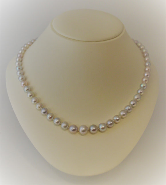 SOLD Akoya Pearl Necklace