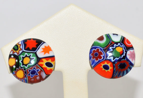 Murano Venetian Glass Earrings
