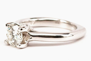 1.07ct Diamond Solitaire Engagement Ring