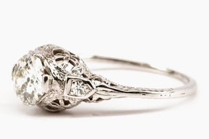 .81ct Art Deco Diamond Engagement Ring