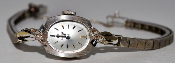 White Gold Ladies' Omega Watch