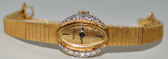 Yellow Gold Angelus Watch