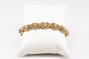 Jabel Add-A-Link Diamond Bracelet