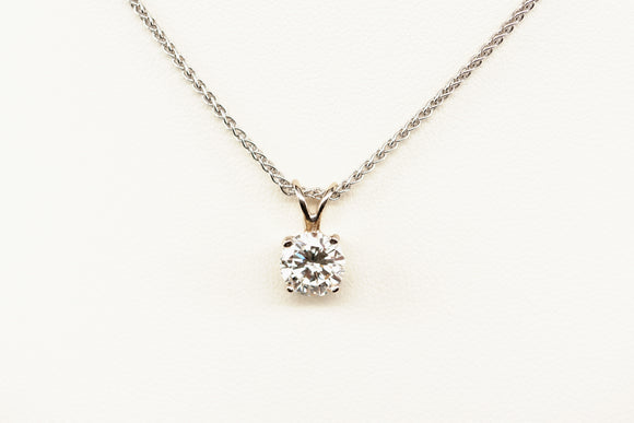1.47ct Diamond Solitaire Pendant
