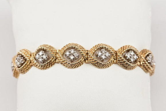 SOLD 1ctw Add-A-Link Bracelet