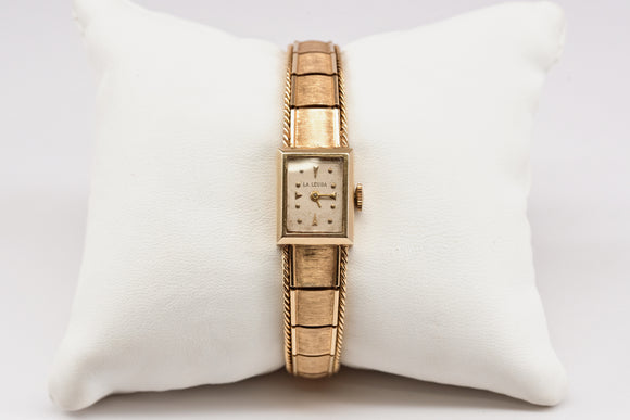 Gold Vintage La Leuba Ladies' Watch