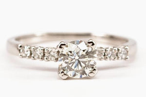 .78ct Old European Cut Diamond Engagement Ring SOLD