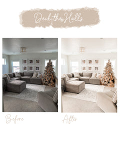 Winter Lightroom Preset Pack