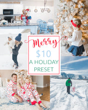 Load image into Gallery viewer, Merry Christmas Preset