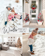 Load image into Gallery viewer, Winter Lightroom Preset Pack