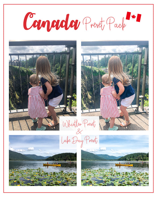 Canada Presets Pack