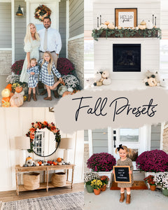 Fall Preset Pack *NEW*