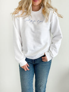 Just Go For It Girl Sweatshirt