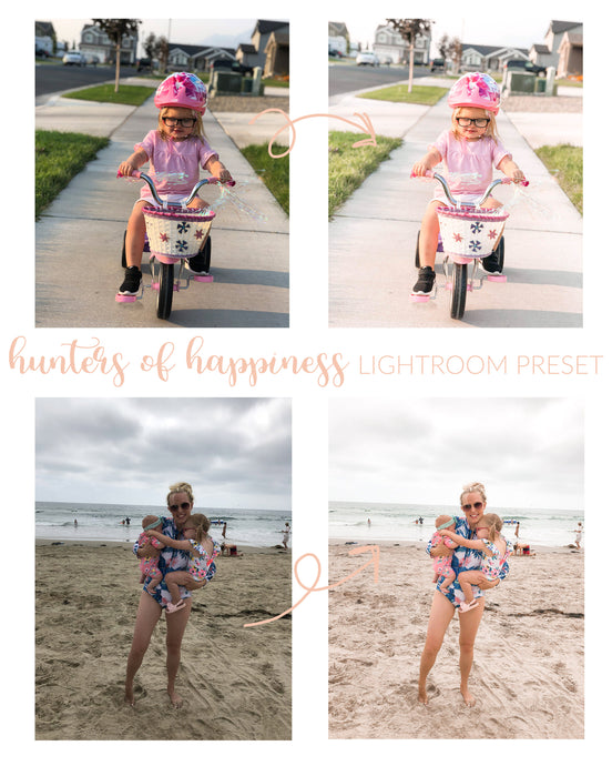 Hunters of Happiness Lightroom Preset