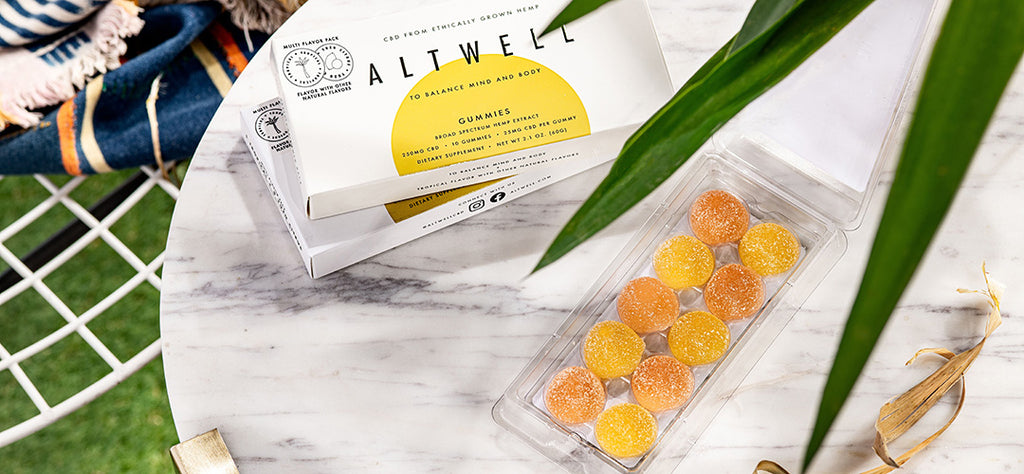 Altwell Balance Gummies with CBD