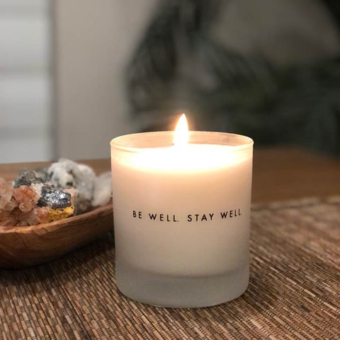 Altwell Scented Candle burning