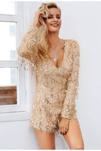 Load image into Gallery viewer, Champagne Playsuit