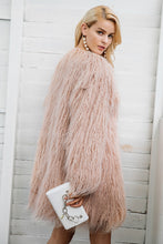 Load image into Gallery viewer, I Won't Waste One More Minute Faux Fur Coat