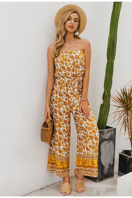 Summer Rain Drops Jumpsuit