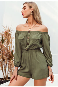 Getting Into Trouble Playsuit