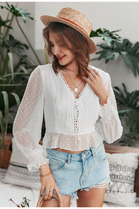 Face To Face Blouse