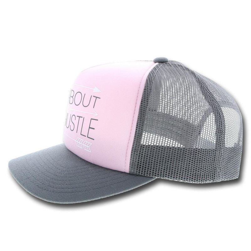 """Hustle"" Pink/Grey"