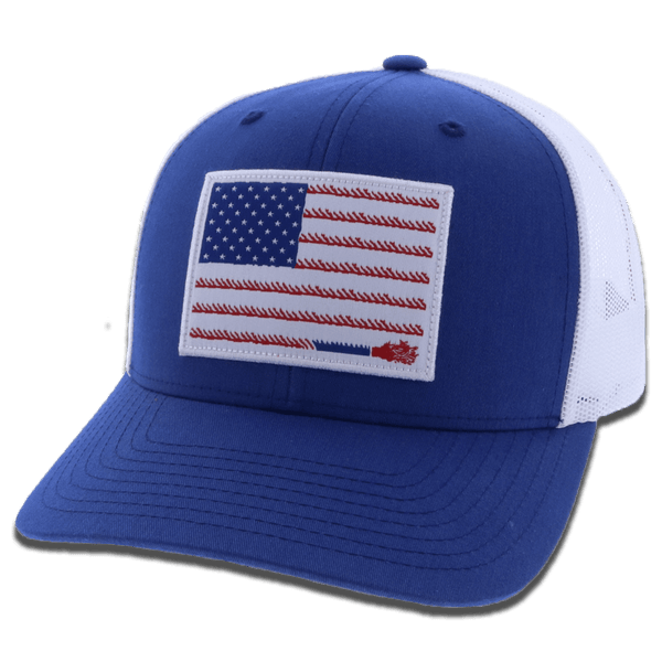 """Liberty Roper"" Blue/White"