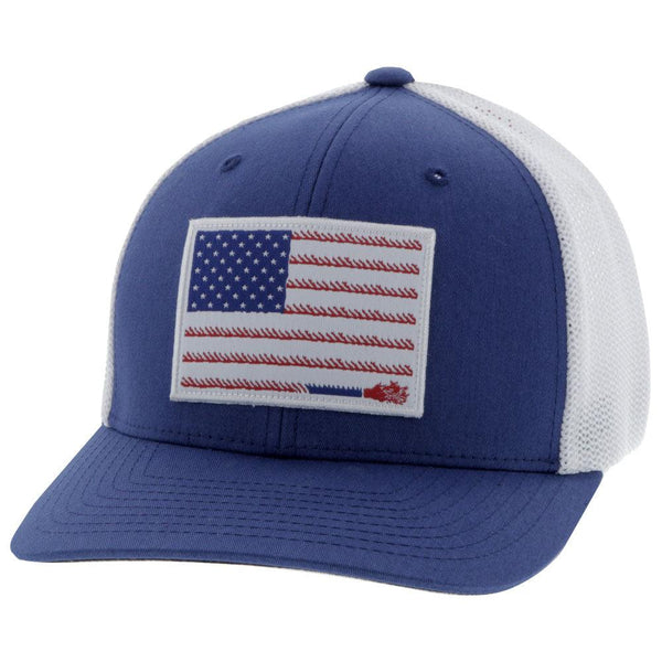 """Liberty Roper"" Blue/White (Fitted)"