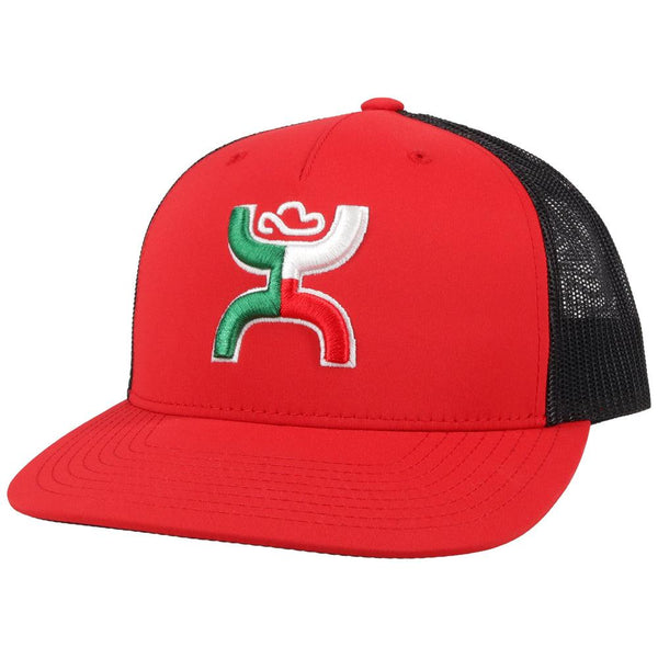 """Boquillas"" Red/Black Hat"
