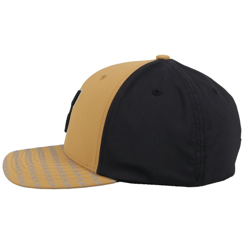"""Solo III"" Tan/Black Hat"