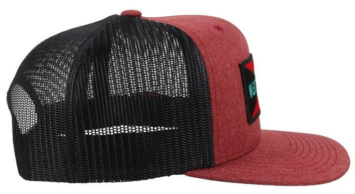 """Holley"" Maroon/Black Hat"