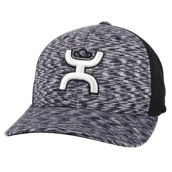 """Ash"" Navy/Black Hat"