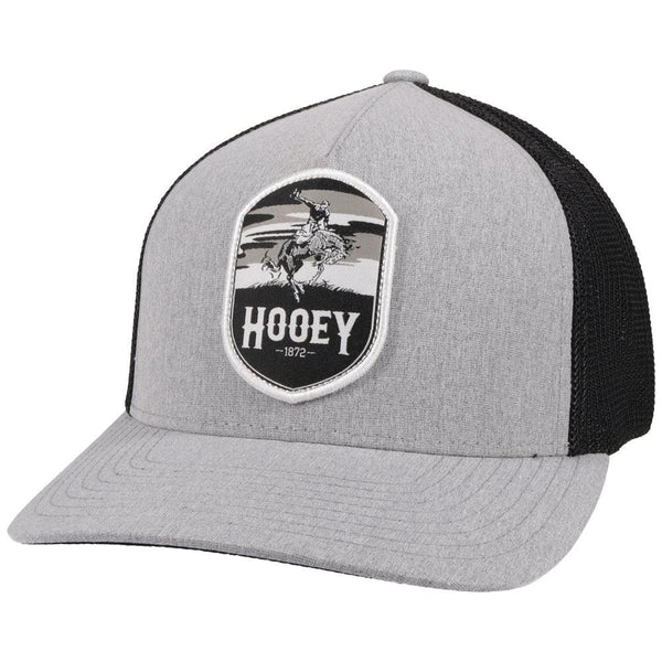 """Cheyenne"" Grey/Black Hat"