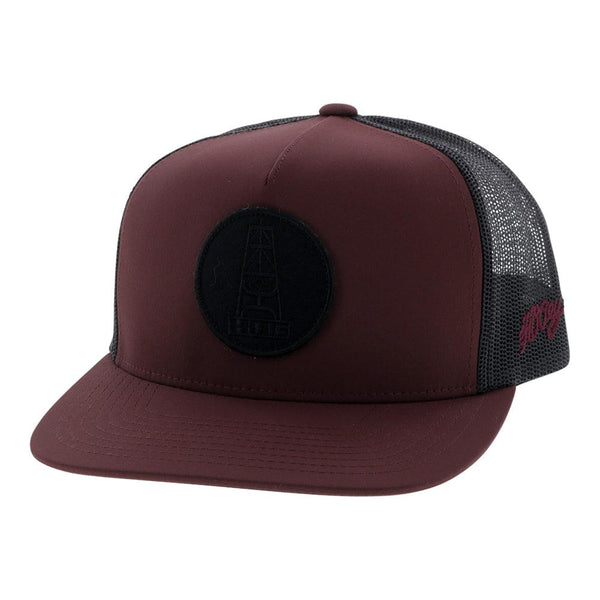 """HOG"" Maroon/Grey"