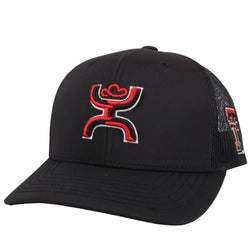 Black Texas Tech Hat w/ Hooey Logo