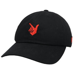 Black Texas Tech Hat w/ Guns Up Logo