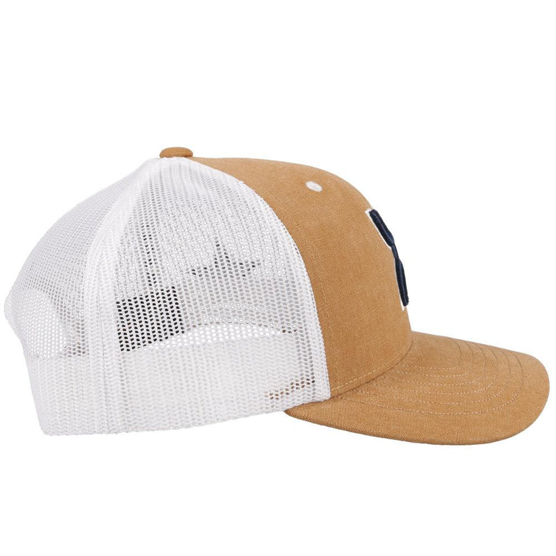 """Dallas Cowboys"" Hat w/ Hooey Logo (Tan/White)"