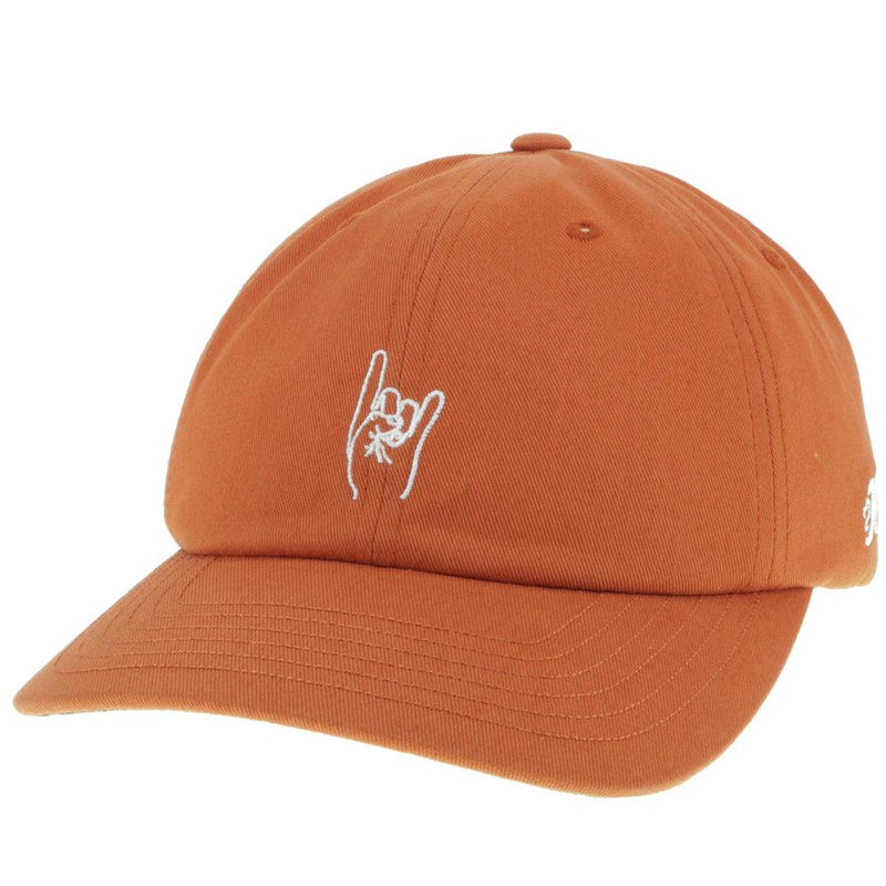 "Texas Longhorns Dad Hat w/ ""Hook 'Em"" Horns Sign"