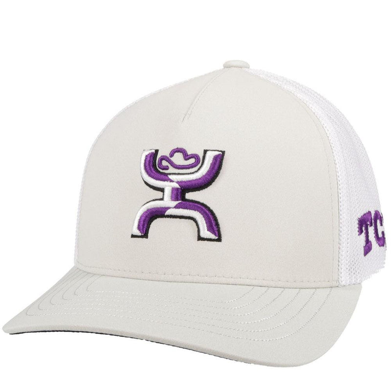 texas university hat with hooey roughy man logo