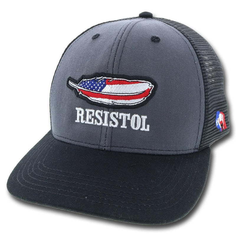 """Resistol"" Grey/Black/Red"