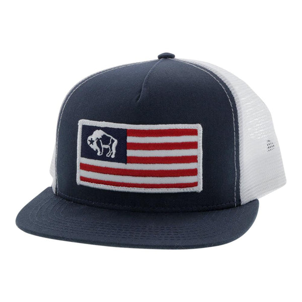 """American Made"" Blue/White"