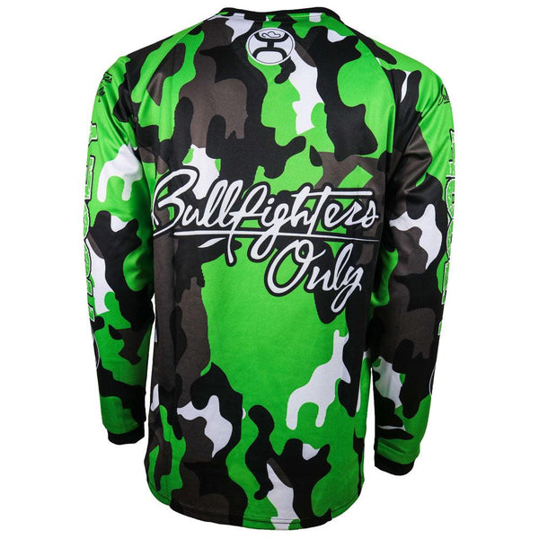 YOUTH BFO Jersey Green/Camo