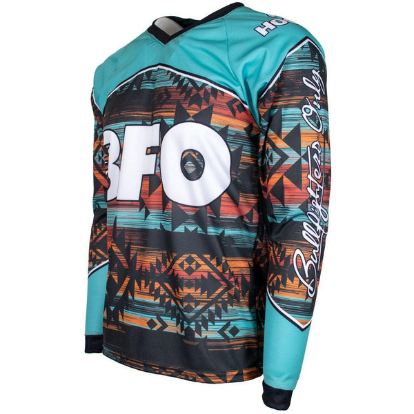 BFO Youth Jersey Turquoise