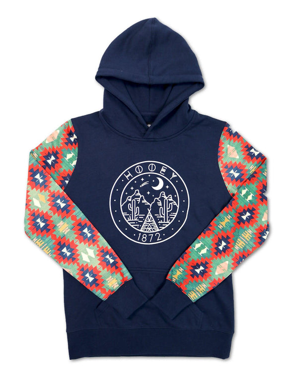 "Youth ""PONDEROSA"" Navy/Aztec"